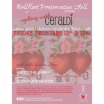 Cooking With Ceraldi *A Special Virtual Valentine's Event*