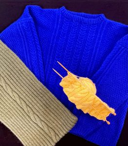 Aran Style Knitting, with Kirsten West