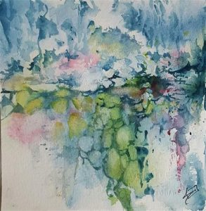 Zoom Watercolor - Abstracts in Watercolor with Sue Dion
