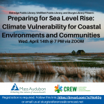 Preparing for Sea Level Rise: Climate Vulnerability for Coastal Environments and Communities