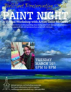 Paint Night: A Virtual Workshop with Colin McGuire