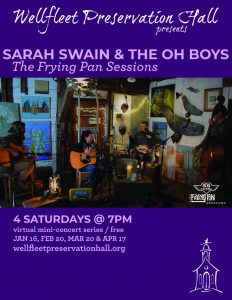 Sarah Swain & the Oh Boys: The Frying Pan Sessions