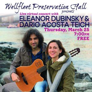 Live Virtual Concert with Eleanor Dubinsky & Dario Acosta Teich