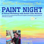 Paint Night: A Virtual Workshop with Artist Colin McGuire