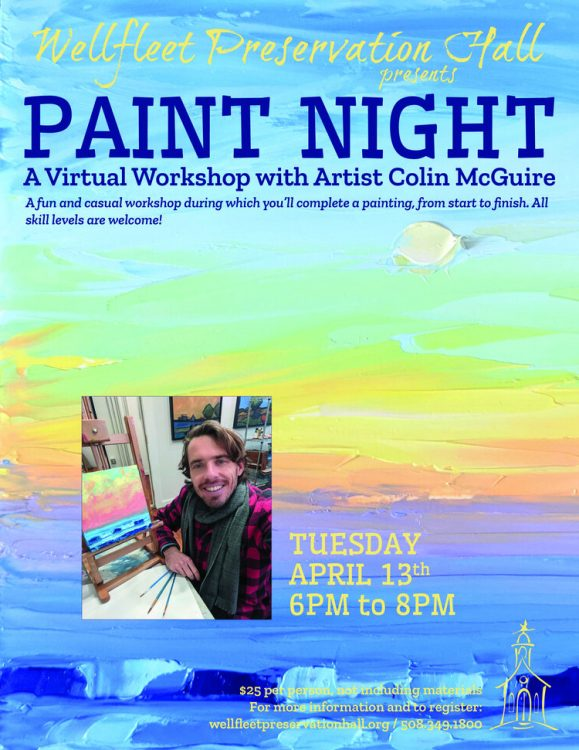 Paint Night: A Virtual Workshop with Artist Colin ...
