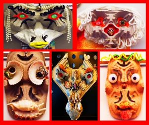 Decorative Mask Making for Kids, with Nate Olin