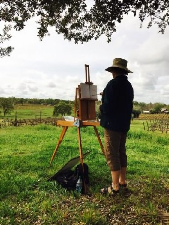 Watercolor Plein Air Workshop with Doris Rice