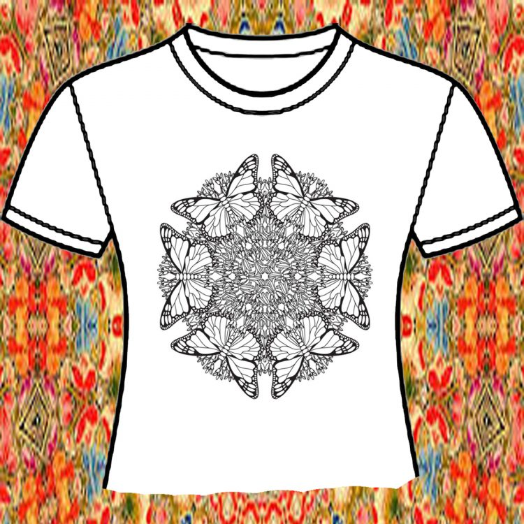 Mandala T-Shirt Design, with Nate Olin