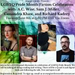LGBTQ Pride Month Fiction Celebration!