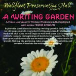 A Writing Garden: A Three-Day Creative Writing Workshop with Indira Ganesan