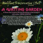 A Writing Garden: A Three-Day Creative Writing Workshop with Indira Ganesan