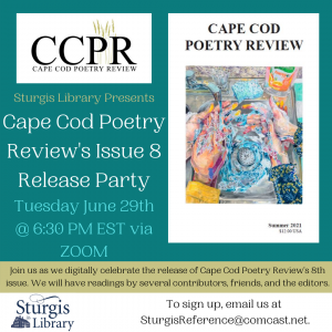 Cape Cod Poetry Review Release Party at Sturgis Li...
