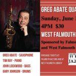 Greg Abate Quartet Live