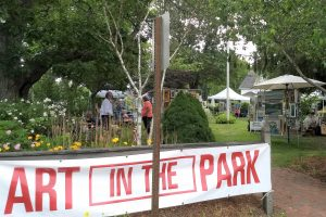 Guild of Harwich Artists: Art-in-the-Park, Mondays...