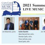 Escher Quartet and Brian Zeger Concert - Cape Cod Chamber Music Festival