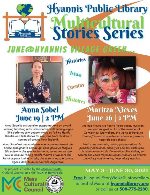 HPL Multicultural Stories Series Storyteller Anna ...