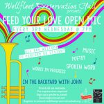 Feed Your Love Open Mic - In Person!