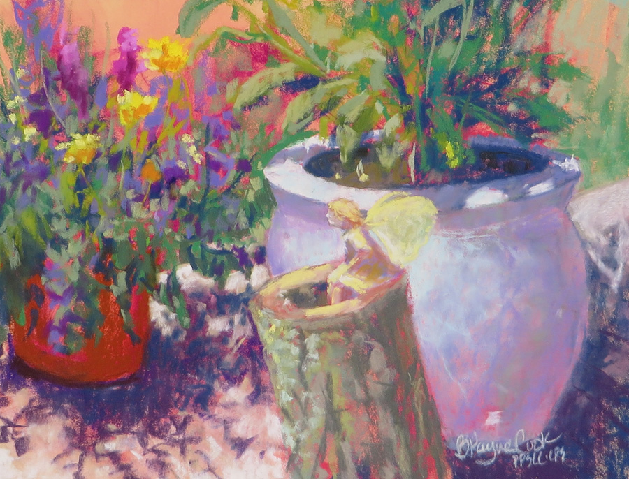 Hybrid Pastel Painting Classes, with Betsy Payne C...