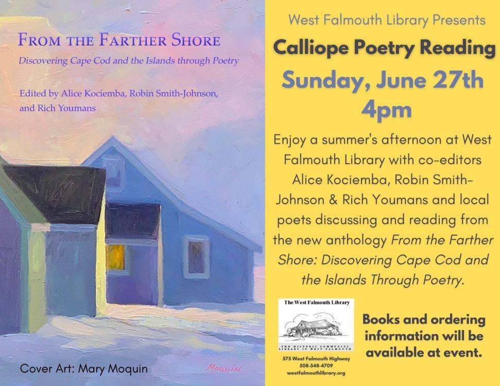 Calliope Poetry Anthology Reading