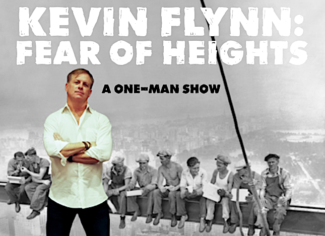 Actor & Comedian Kevin Flynn in Fear of Height...