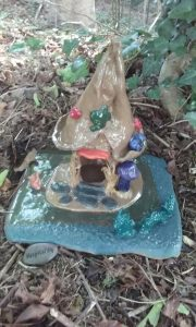 Meetinghouse Clay Center's Free Fairy House Workshop for the North Falmouth Village Association