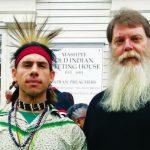 Native American trail walk