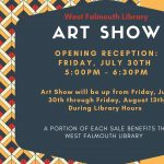 West Falmouth Library Art Show and Sale Opening Reception