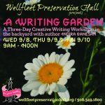 A Writing Garden: A Creative Writing Workshop with Indira Ganesan