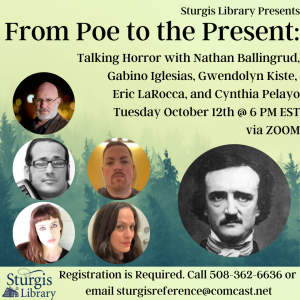 From Poe to the Present: Talking Scary Stories with...
