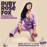 Ruby Rose Fox: Homecoming