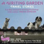 Three-Day Creative Writing Workshop with Indira Ganesan
