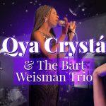 Qya Cristál with the Bart Weisman Jazz Trio
