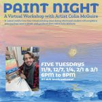 Paint Night w/Colin McGuire *Virtual Workshop*